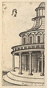 Partial view of a Building from the series Ruinarum variarum fabricarum delineationes pictoribus caeterisque id genus artificibus multum utiles