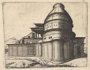 Building from the series Ruinarum variarum fabricarum delineationes pictoribus caeterisque id genus artificibus multum utiles