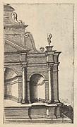 Partial View of a Monument from the series Ruinarum variarum fabricarum delineationes pictoribus caeterisque id genus artificibus multum utiles