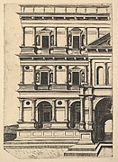 Partial View of Renaissance Building from the series Ruinarum variarum fabricarum delineationes pictoribus caeterisque id genus artificibus multum utiles