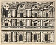 Ruin of a Facade from the series Ruinarum variarum fabricarum delineationes pictoribus caeterisque id genus artificibus multum utiles