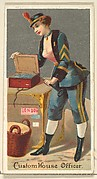 Custom House Officer, from the Occupations for Women series (N166) for Old Judge and Dogs Head Cigarettes