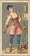 Fencing - Master, from the Occupations for Women series (N166) for Old Judge and Dogs Head Cigarettes