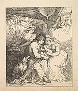 A Sailor's Family (from Imitations of Modern Drawings)