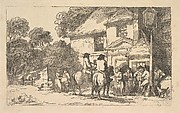 The Three Horsehoes, a Roadside Inn (from Imitations of Modern Drawings)