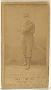 Cunningham, Pitcher, Baltimore Orioles, from the Old Judge series (N172) for Old Judge Cigarettes