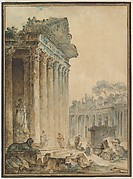 Capriccio with an Ancient Temple