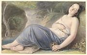 Psyche Asleep in a Landscape