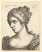 Bust of a Woman of Many Plaits