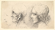 Three Heads in Profile