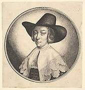 Woman's Head with Hat
