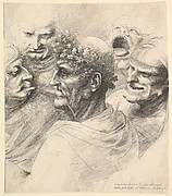 Five Men's Heads