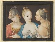 Heads of Goddesses (Pallas, Venus, Juno)