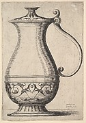 Jug with Arabesque on the Base