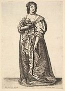 Figure of a Lady Standing