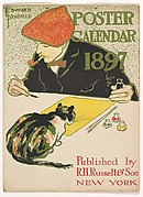 [Cover] POSTER / CALENDAR / 1897 / Published by / R. H. Russell & Son / NEW YORK