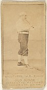 Brouthers, 1st Base, Boston, from the Old Judge series (N172) for Old Judge Cigarettes
