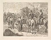 Cossacks Escorting the Regimental Cassone