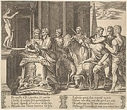 Psyche's Father Consulting the Oracle, from The Fable of Psyche