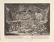 The Lottery (copy after Hogarth)