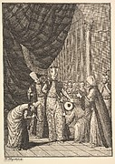 "Figures in Turbans (Aubry de La Mottraye's ""Travels throughout Europe, Asia and into Part of Africa...,""  London, 1724, vol. I, pl. 17B)"