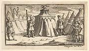 Taking Away the Military Belt or Girdle (John Beaver, Roman Military Punishments, 1725)