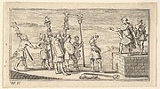 Shameful Discharge  (Beaver's Roman Military Punishments, 1725, Chapter 14)