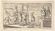 Shameful Discharge  (Beaver's Roman Military Punishments, 1725, Chapter 14)