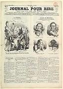 Le Journal Pour Rire, Journal d'Iimages, Journal Comique, Critique, Satirique et Moqueur, August 23, 1850
