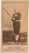 Kelly, Boston, from the Old Judge series (N172) for Old Judge Cigarettes