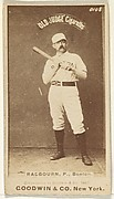 Radbourn, Pitcher, Boston, from the Old Judge series (N172) for Old Judge Cigarettes