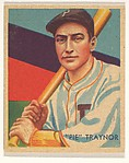 """Pie"" Traynor, from the Diamond Stars series (R327) for the National Chicle Gum Company"