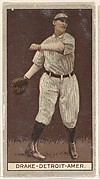 Drake, Detroit, American League, from the Brown Background series (T207) for the American Tobacco Company