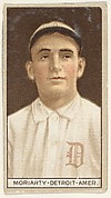 Moriarty, Detroit, American League, from the Brown Background series (T207) for the American Tobacco Company