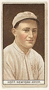 Hoff, New York, American League, from the Brown Background series (T207) for the American Tobacco Company