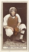 Lapp, Philadelphia, American League, from the Brown Background series (T207) for the American Tobacco Company