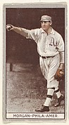 Morgan, Philadelphia, American League, from the Brown Background series (T207) for the American Tobacco Company