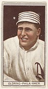 Oldring, Philadelphia, American League, from the Brown Background series (T207) for the American Tobacco Company