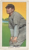 O'Leary, Detroit, American League, from the White Border series (T206) for the American Tobacco Company