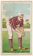"Ward, Shortstop, New York, from the ""Gold Coin"" Tobacco Issue"
