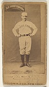 Honest John Morrill, 1st Base and Manager, Boston, from the Old Judge series (N172) for Old Judge Cigarettes