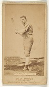"William H. ""Dad"" Clarke, Pitcher, Chicago, from the Old Judge series (N172) for Old Judge Cigarettes"