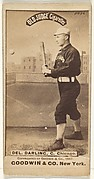 Dell Darling, Catcher, Chicago, from the Old Judge series (N172) for Old Judge Cigarettes