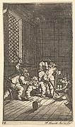 Hudibras Catechized (Seventeen Small Illustrations for Samuel Butler's Hudibras, no. 14)