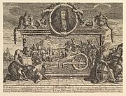Frontispiece and Its Explanation: Twelve Large Illustrations for Samuel Butler's Hudibras, Plate 1