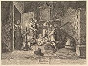Hudibras Catechized (Twelve Large Illustrations for Samuel Butler's Hudibras, Plate 9)