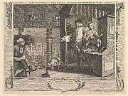 The Industrious 'Prentice a Favorite, and Entrusted by his Master (Industry and Idleness, plate 4)