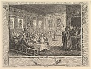 The Industrious 'Prentice Grown Rich and Sheriff of London: Industry and Idleness, plate 8
