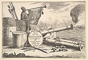 Instruments of Naval Combat, A Sailor Sounding the Trumpet