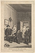 """Frontispiece to """"The Humours of Oxford"""""""